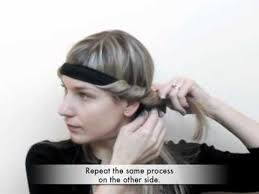 headband styler trade secrets how to curl your hair using a bohemian headband