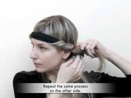 headband styler trade secrets how to curl your hair using a bohemian headband