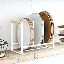 Kitchen Dish Rack Ideas Kitchen Dish Storage Plate Rack For Cabinet Best Wooden Plate Rack
