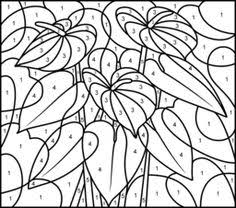 nicole u0027s free coloring pages color numbers flowers coloring