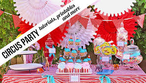 Candy Themed Party Decorations Circus Archives Ashley Hackshaw Lil Blue Boo