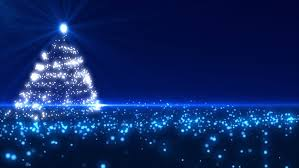 blue christmas blue christmas tree background loopable stock footage 4031380