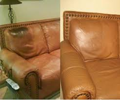 Leather Sofa Color Restoration by Furniture Take Apart Furniture Repair Restoration Couch Sofa