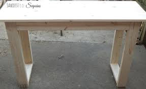 Diy Console Table 25 Console Table With Free Plans Sawdust To Sequins