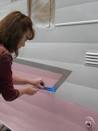 1964 shasta travel trailer painting the 1964 shasta pink before