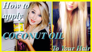 Do U Wash Hair Before Coloring - how to apply coconut oil grow long healthy hair and