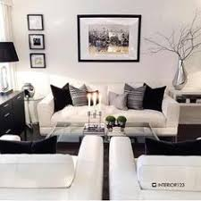 Modern Living Room Decorating Ideas Color Combos Living - Black and white living room decor