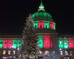 sf christmas tree lighting 2017 2017 san francisco holiday events roundup hoodline