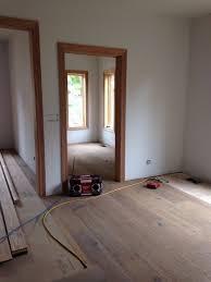 oak trim with white oak floors