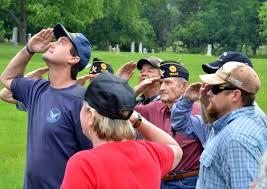 American Legion Flag A Salute In Memory Of Memorial Day 88 9 Ketr
