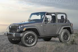 purple jeep no doors 2017 jeep wrangler pricing for sale edmunds