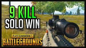 pubg youtube gameplay 9 kill solo win pubg gameplay youtube