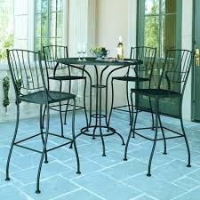 High Bistro Table Outdoor High Top Bar Tables Beautiful Outdoor High Bistro Table