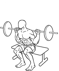 squat to bench with barbell ironpinoy activepinoy