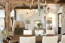 lake home interiors tracery interiors lake house alabama dining rm hooked on houses