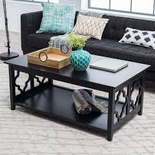 Quatrefoil Side Table Classic Design Contemporary Metal Coffee Table