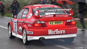 mitsubishi evo rally car mitsubishi lancer evo vi gr a pure sounds u0026 huge backfires