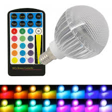 color changing light bulb with remote rgb 5w e14 small edison colour changing led light bulb with