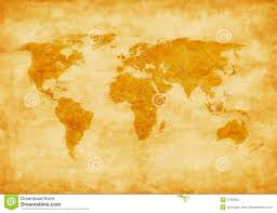 Old World Maps by Old Style World Map Stock Photo Image 9765500