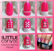 converse nail art step by step entertainment news photos