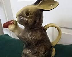 asian rabbit ring holder images Rabbit teapot etsy jpg
