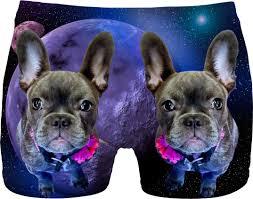 french bulldog and galaxy men underwear