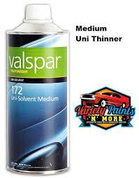 thinners reducers valspar automotive reducer