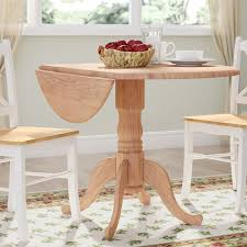 Drop Leaf Dining Room Table by August Grove Carrie Round 42