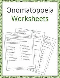 onomatopoeia examples definition and worksheets kidskonnect