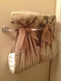 bathroom towel folding ideas 12 add some goodies for your guests such as tiny toiletries