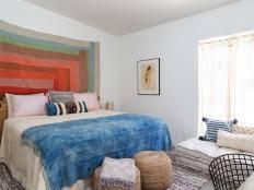 cheap bedroom makeover a master bedroom makeover under 150 hgtv