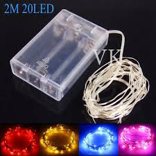 aliexpress com buy 10pcs copper wire led string lights battery