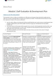mentoring template pezzi self evaluation template mentoring