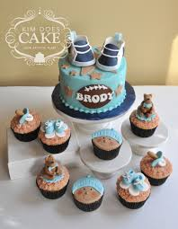 Sports Baby Shower Cake Ideas Sports Baby Shower Cake With Nike Shoes Cakecentral Com