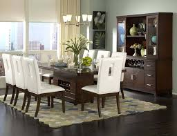 black dining table and hutch dining room centerpiece ideas for table casual colorful polka dot