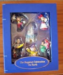 disneyland resort storybook ornament set disney mickey disney