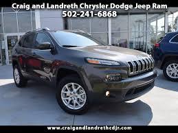 jeep cherokee trailhawk orange new u0026 used cars for sale 40014 craig and landreth chrysler dodge