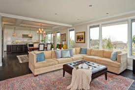 awesome open plan kitchen living room size to designs concept