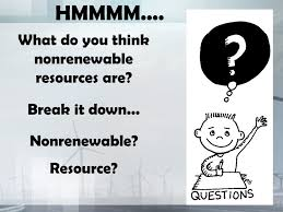 nonrenewable and renewable resources ppt download