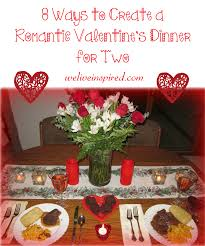 8 ways create a romantic u0027s day dinner for two we