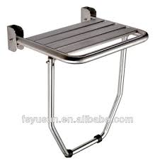 Foldable Shower Chair Stainless Steel Folding Wall Mount Shower Seat Buy Shower Seat