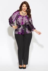 purple blouse plus size plus size richly regal plus size avenue fashion