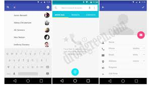 contacts apk android l 5 0 lollipop dialer contact apk ui droidgreen