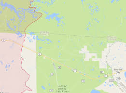 Florida Google Map by West Mims Fire In Upper Suwannee River Watershed In Okefenokee