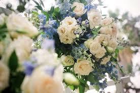 wedding arch garden blue delphinium and white garden wedding arch flowerduet