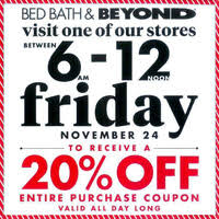Bed Bath N Beyond Coupon Bed Bath U0026 Beyond Black Friday 2017