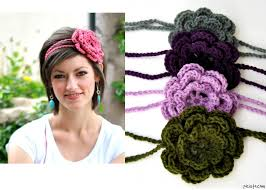 crochet flower headband how to crochet flowers for headbands crochet flower headbands