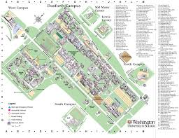 University Of Arkansas Campus Map Washington University Campus Map X X Us 2017