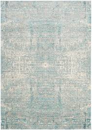 Teal And Gray Area Rug by Rug Mys971a Mystique Area Rugs By Safavieh
