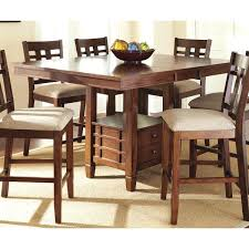 Drop Leaf Counter Height Table Dining Table Counter Height Dining Table Craftsman Oak Room With